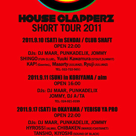 HOUSE CLAPPERZ - SHORT TOUR 2011