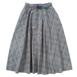 THE NORTH FACE PURPLE LABEL - W's Glen Check Print Webbing Belt Skirt