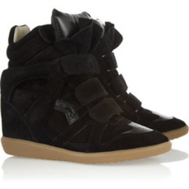 Isabel Marant - The Bekket leather and suede sneakeres