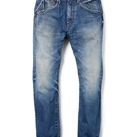 "nonnative - DWELLER 5P JEANS - COTTON 14oz SELVEDGE DENIM VW ""SCOTT"""