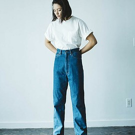 HOLIDAY - HIGH WEST WIDE DENIM PANTS