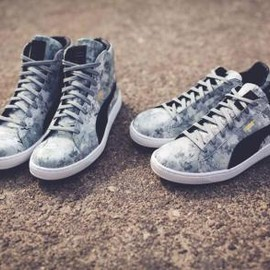 PUMA - PUMA BASKET CLASSIC TREE CAMO COLLECTION