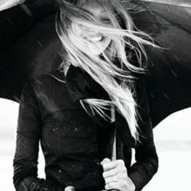 Happy when it rains!