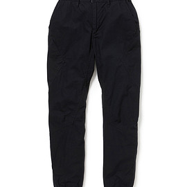 nonnative - CYCLIST EASY RIB PANTS TAPERED FIT C/P RIPSTOP STRETCH
