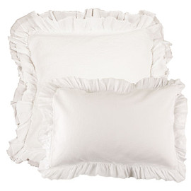 zara home - Cotton Frill Bedspread and Cushion Cover