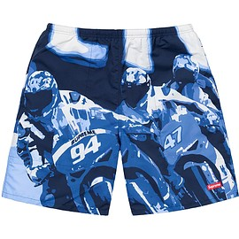 Supreme - Racing Water Short Navy