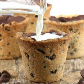 Milk and cookies with a twist!
