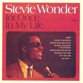 スティービー・ワンダー Stevie Wonder - For Once in My Life