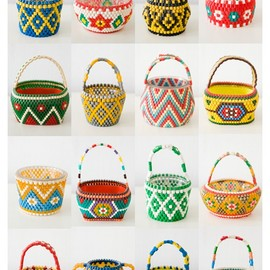 hama bead baskets