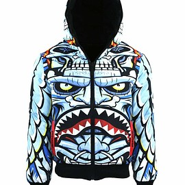 SPRAYGROUND - Reversible Apache Wings Down Coat