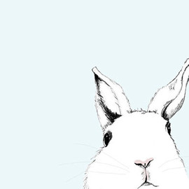 corelladesign - White Rabbit Art Print - Where's Alice