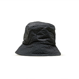 ENGINEERED GARMENTS - Reversible Bucket Hat-Quilted Activecloth-Grey