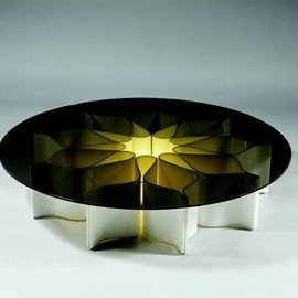 pierre paulin - Flower coffee table