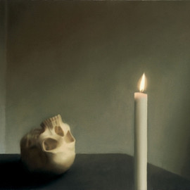 Gerhard Richter - 1983 Skull with Candle
