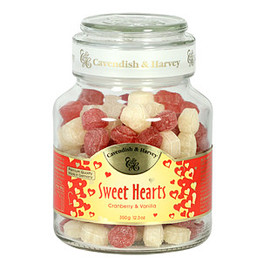 Assorted Fruit Hard Candy Jar