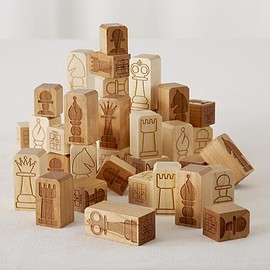 Nod - Chunky Chess Pieces