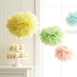 GARTNER - Multi Color Tissue Poms