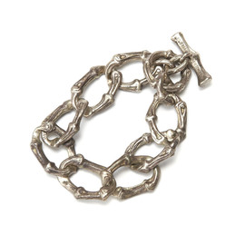 Tiffany & Co. - Silver Bamboo Link Bracelet
