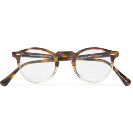 OLIVER PEOPLES - Gregory Peck Acetate Optical Glasses