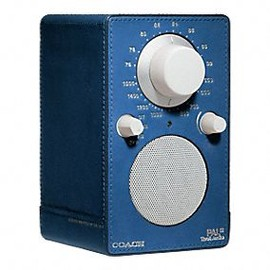 Coach, Tivoli Audio - Bleecker Leather Wrapped Tivoli Audio
