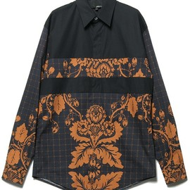 3.1 Phillip Lim - oversized box fit l/s button up w/ paneled seams
