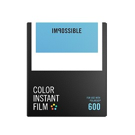 IMPOSSIBLE - COLOR FILM FOR 600 TYPE CAMERA