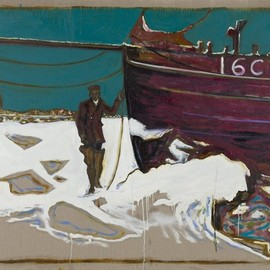 Billy Childish - Frozen Estuary - Oyster Smack