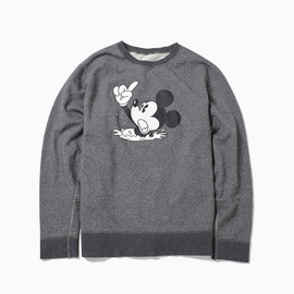"THE POOL AOYAMA - SWEAT PULLOVER ""MICKEY"" ©DISNEY"