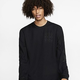 NIKE - ACG Long Sleev Waffle Top -black-