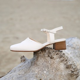 BONSERGENT STUDIO - Mary Jane Block Heel Sandal