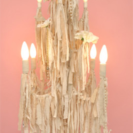 Kim Songhe - Organic Cotton Chandelier