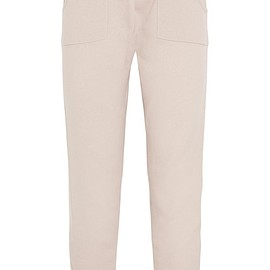 Eres - Confidente Ardent wool and cashmere-blend track pants