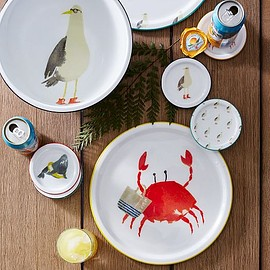 west elm - Beach Buddies Trays