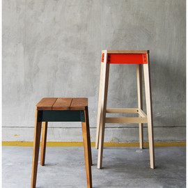 takehomedesign - pack stool & pack bar stool