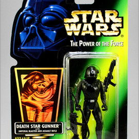 Kenner - STAR WARS The Power of the Force Action Figure DEATH STAR GUNNER