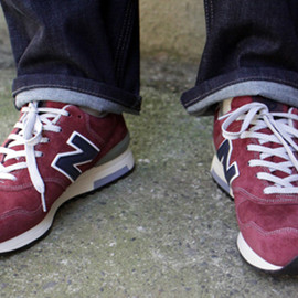 NEW BALANCE for J.CREW - M1400 WN