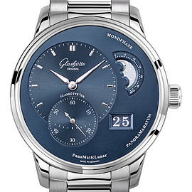 Glashutte ORIGINAL - パノマティックルナ Panomaticlunar 1-90-02-46-32-70 (blue)
