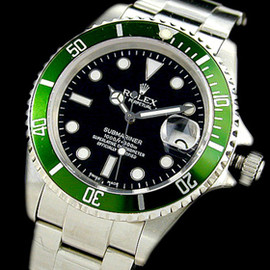 ROLEX - Green  Submariner