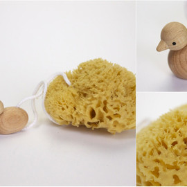 REDECKER - BATH SPONGE with DUCK