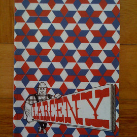Barry McGee - LARCENY - Barry McGee zine (2005)