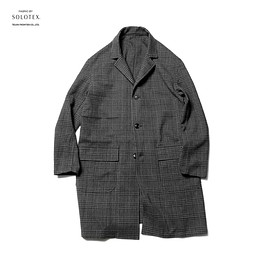 SOPHNET. - CHECK GOWN SHIRT FABRIC BY SOLOTEX®︎