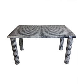 DAY TRACTION - THE POOL-Oia  (Tile table)