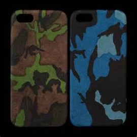 Maison Takuya - Camouflage Goat Leather Iphone 5 Case