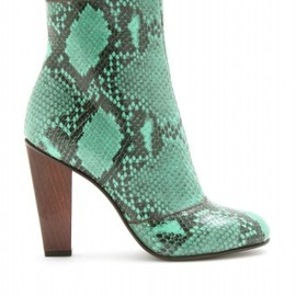 Dries Van Noten -  STIEFEL MIT SCHLANGENPRINT