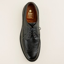 Alden - Limited-edition Alden® for J.Crew black alpine longwing bluchers