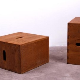 "Le Corbusier - ""Cube"", Wood, ca 1955"