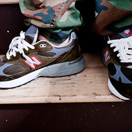 "New Balance - MR993  ""Military Pack"" USMC"