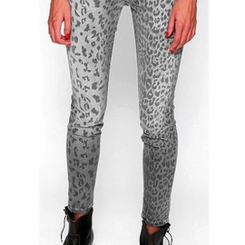 The Stiletto low-rise leopard-print skinny jeans