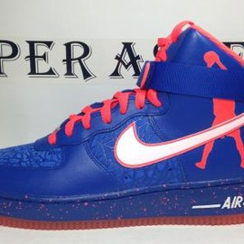Nike - NIKE AIR FORCE 1 HI CMFT PREMIUM RW QS GAME ROYAL/WHITE