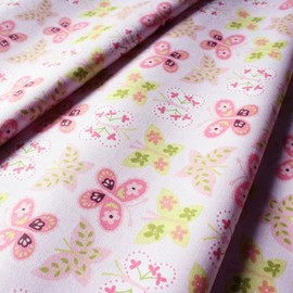blend fabrics - Animal Parade Flutter Pink
